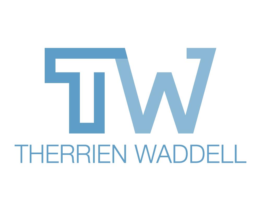 Therrien Waddell Logo On White
