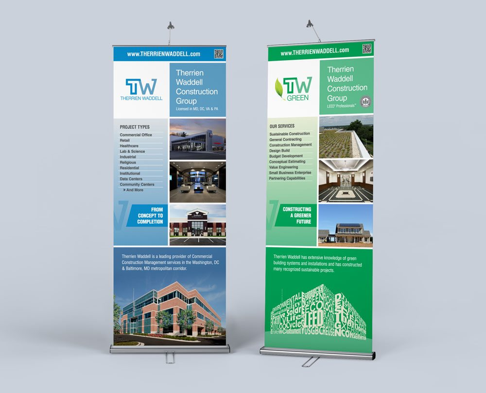 Therrien Waddell Trade Show Banners blueunderground