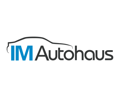 IM Autohaus - Custom Logo Design & Flat Logo Design