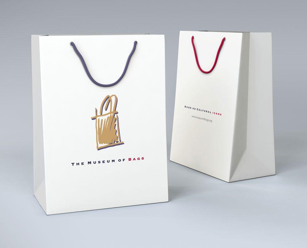 Custom Logo Design - Logo Design for the Museum of Bags