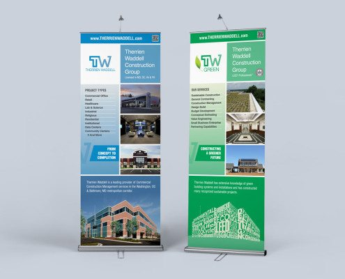 Therrien Waddell Trade Show Banners - Print Design