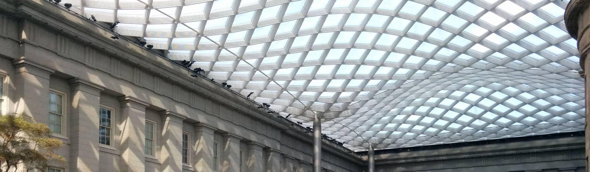 American Art Museum roof