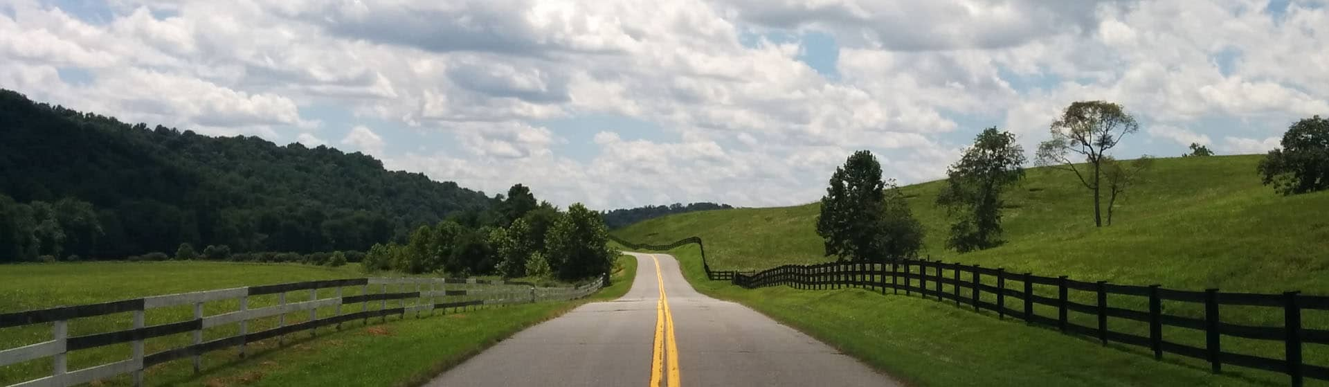 Graves Mill Road in Madison, Virginia