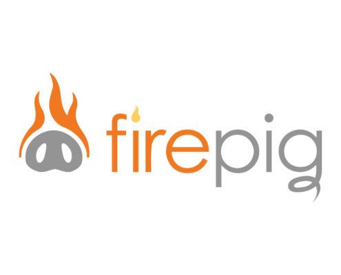 Logo Design for Firepig on white