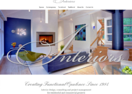 WordPress Website Design and WordPress Website Development for Barbara Hawthorn Interiors - Welcome 1