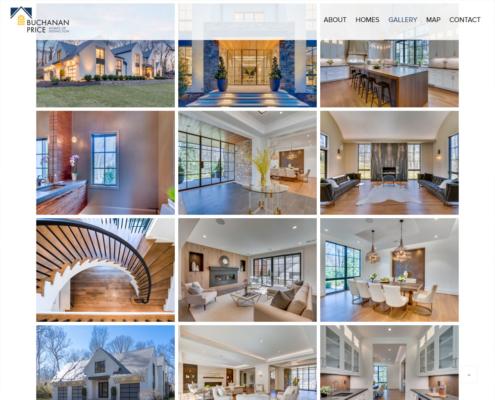 WordPress Website Design and WordPress Website Development for BUCHANAN · PRICE - Gallery